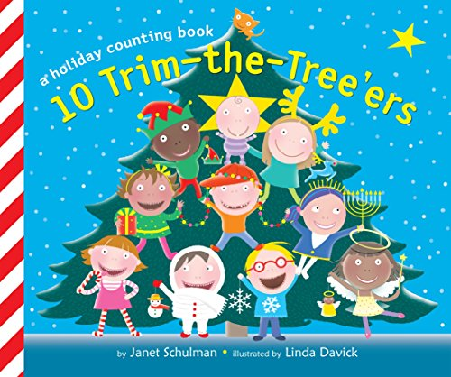 9780449810552: 10 Trim-the-Tree'ers: A Holiday Counting Book