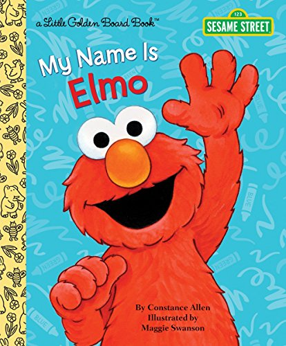 9780449810668: My Name Is Elmo (Little Golden Books)