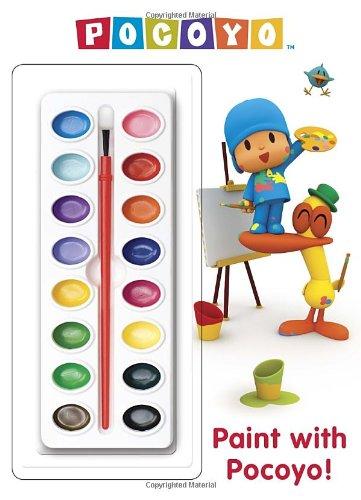 9780449813409: Paint with Pocoyo! (Pocoyo) (Deluxe Paint Box Book)