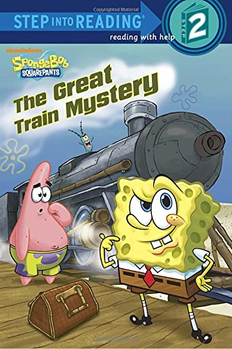 9780449814413: The Great Train Mystery (SpongeBob SquarePants) (Step into Reading)