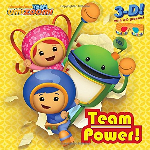 TEAM POWER! - 3-D 8X (9780449814482) by Random House