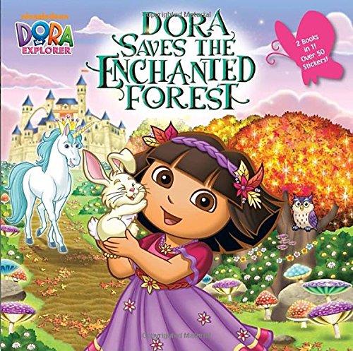 9780449814505: Dora Saves the Enchanted Forest/Dora Saves Crystal Kingdom (Dora the Explorer) (Pictureback(R))