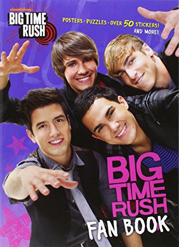 9780449814789: Big Time Rush Fan Book (Big Time Rush) (Full-Color Activity Book with Stickers)