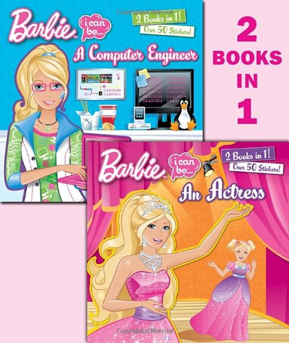 I Can Be an Actress/I Can Be a Computer Engineer (Barbie) (Deluxe Pictureback): Marenco, Susan