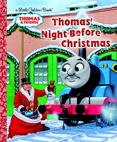 9780449816639: Thomas' Night Before Christmas (Thomas & Friends) (Little Golden Book)