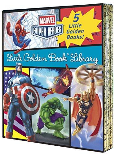 9780449817353: MARVEL HEROES LITTLE GOLDEN BOOK LIBRARY