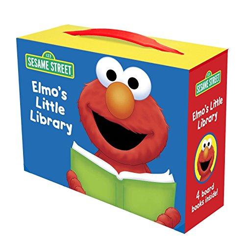 9780449817407: Elmo's Little Library: Elmo's Mother Goose, Elmo Says, Elmo's ABC Book, Elmo's Tricky Tonge Twisters