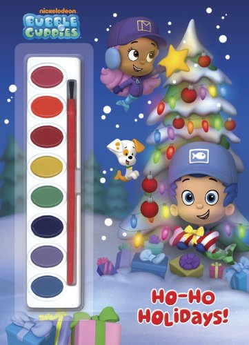9780449817674: Ho-Ho Holidays! [With Paint Brush and Paint] (Bubble Guppies)