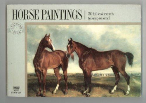 9780449903452: Postcard Books: Horse Paintings