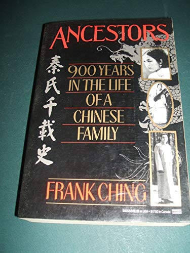 9780449903537: Ancestors: 900 Years in the life of a Chinese Family