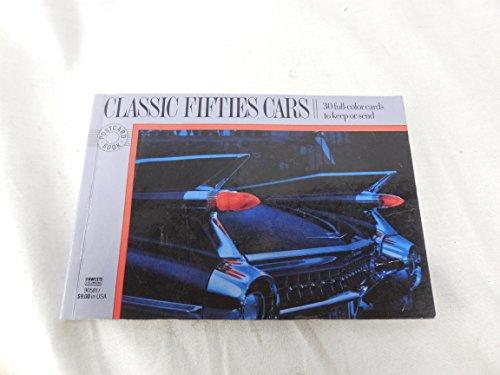 9780449905814: Classic Fifties Cars (Postcard Books)