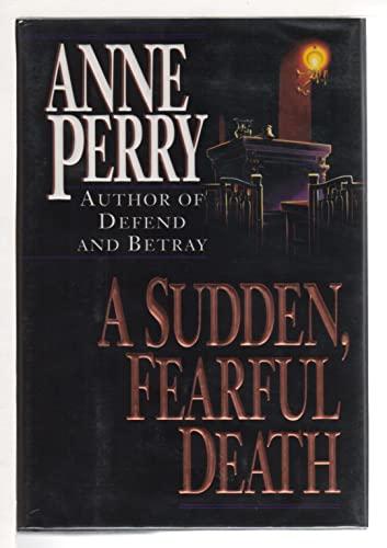 9780449906378: A Sudden, Fearful Death