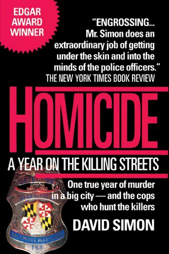 9780449908082: Homicide: A Year on the Killing Streets