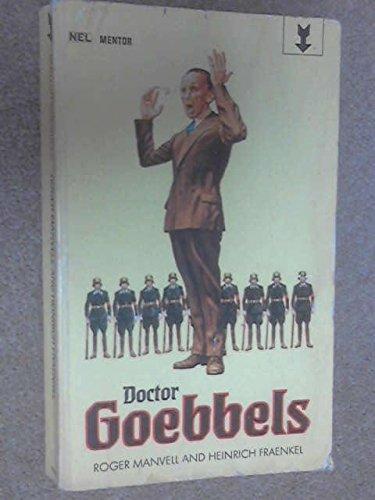 9780450001871: Doctor Goebbels (Mentor Books)