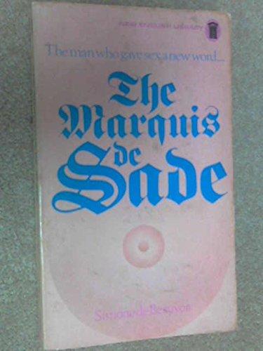 9780450010507: The Marquis de Sade: An essay by Simone de Beauvoir