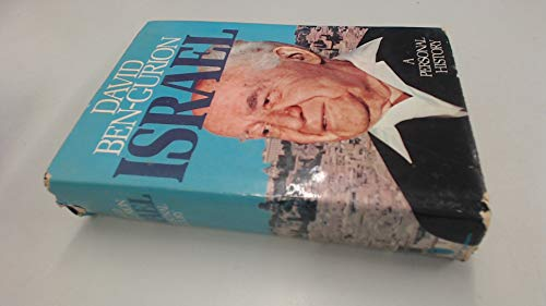 Israel: A Personal History: Ben-Gurion, David