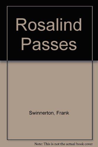 9780450024146: Rosalind Passes