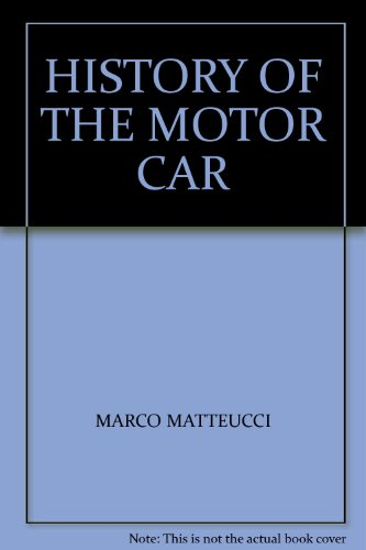 9780450024665: History of the Motor Car