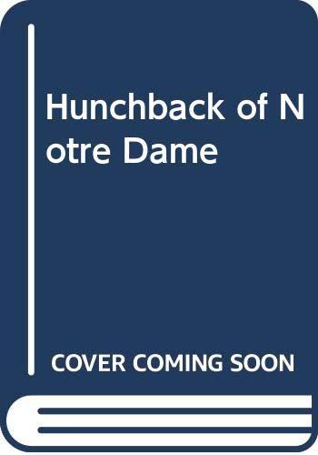 9780450032349: Hunchback of Notre Dame