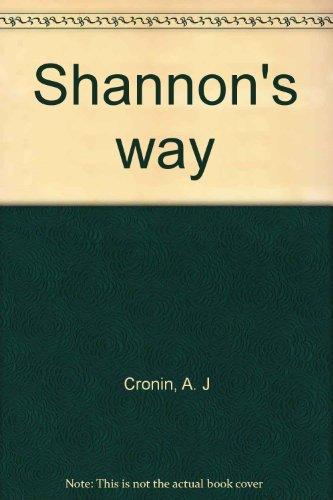 9780450033131: Shannon's Way