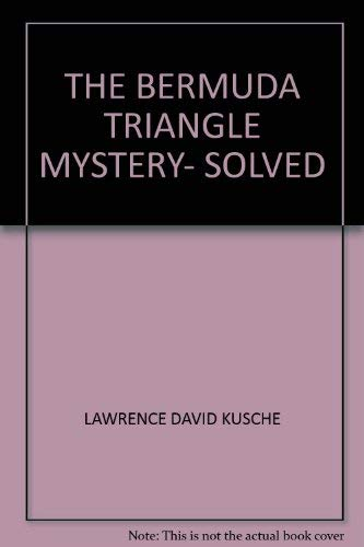 9780450038358: The Bermuda Triangle Mystery- Solved