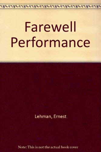 9780450056987: Farewell Performance