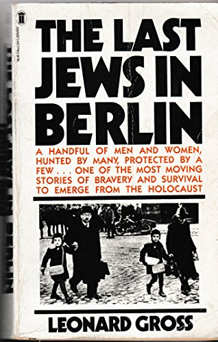 9780450057762: Last Jews in Berlin