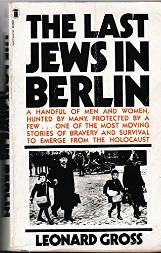 9780450057762: Last Jews in Berlin