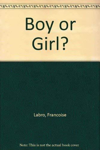 9780450057892: Boy or Girl?
