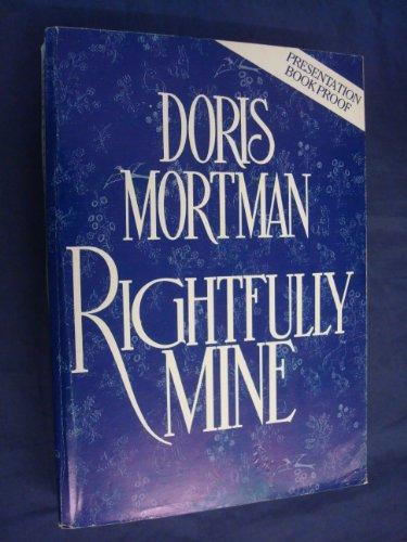 9780450502781: Rightfully Mine