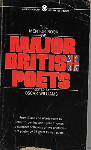 9780451000613: Mentor Book of Major British Poets