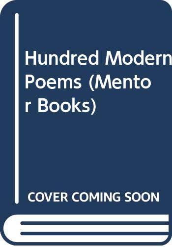 One Hundred Modern Poems (Mentor Books)