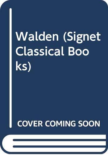 9780451000934: Walden (Signet Classical Books)