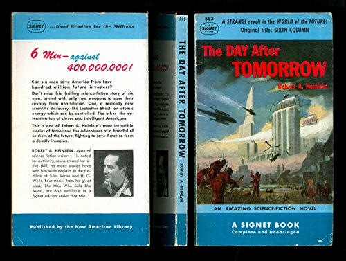 9780451008824: The Day after Tomorrow (Sixth Column)