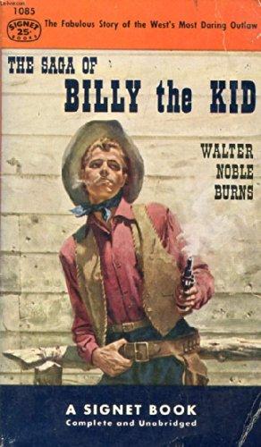 9780451010858: Saga of Billy the Kid