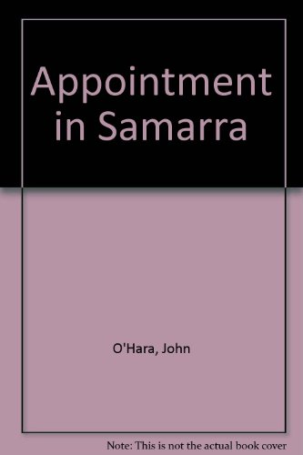 Appointment in Samarra (9780451018953) by John O'Hara