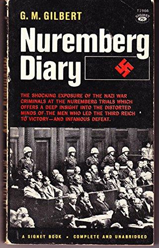 Nuremberg Diary (Vintage Signet, T1966): Gilbert, G. M.