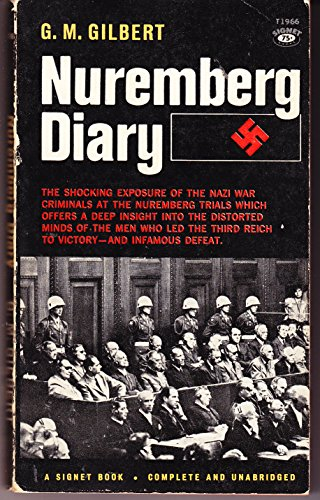 9780451019660: The Nuremberg Diary [Mass Market Paperback] by Gilbert, G. M.