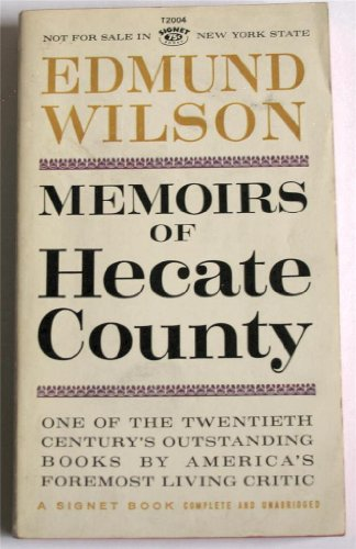 Memoirs of Hecate County (9780451020048) by Edmund Wilson