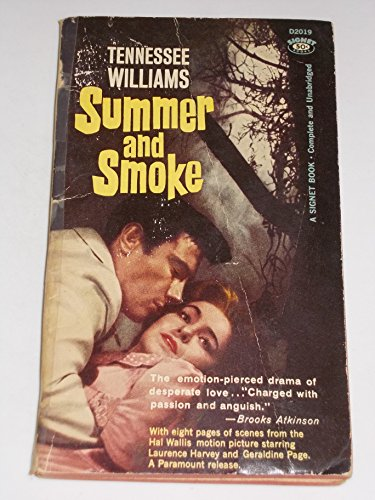 9780451020192: Summer and Smoke