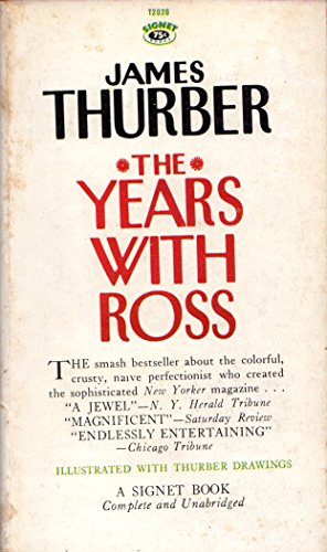The Years with Ross (9780451020208) by Thurber, James