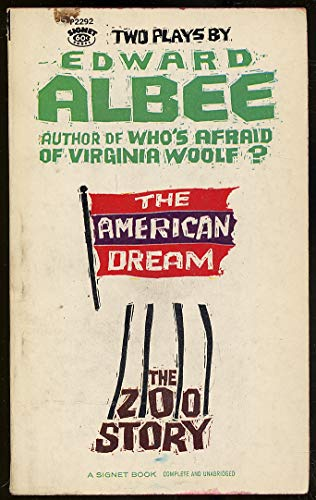 9780451022929: The American Dream and Zoo Story [Mass Market Paperback] by Edward Albee