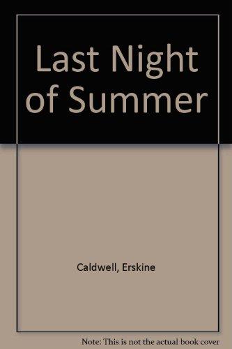 9780451024510: Last Night of Summer