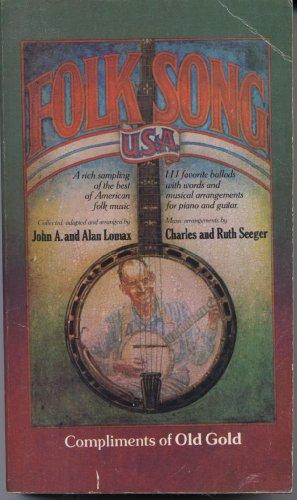 Folk Song USA: Lomax, John