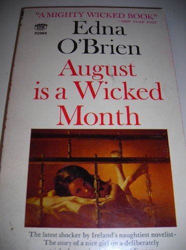 9780451029645: August is a Wicked Month