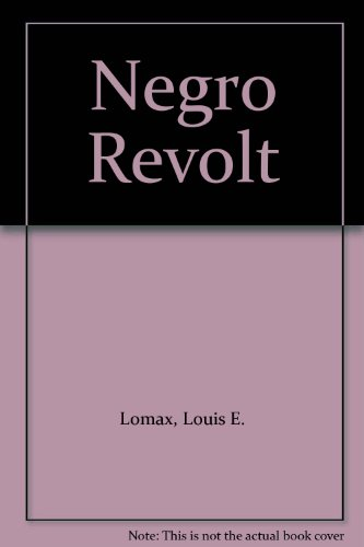 9780451031495: Negro Revolt