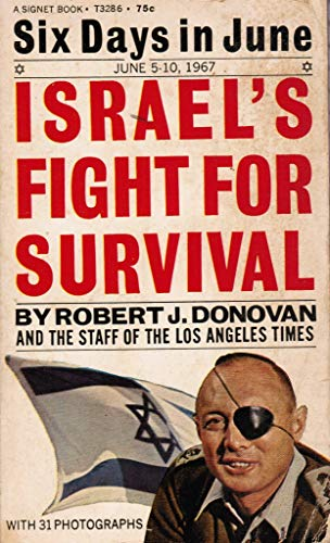 9780451032867: Six Days in June - Israel's Fight for Survival