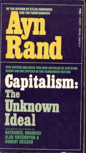9780451033048: Rand Ayn : Capitalism: the Unknown Ideal (Signet)