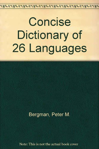 9780451033680: Concise Dictionary of 26 Languages