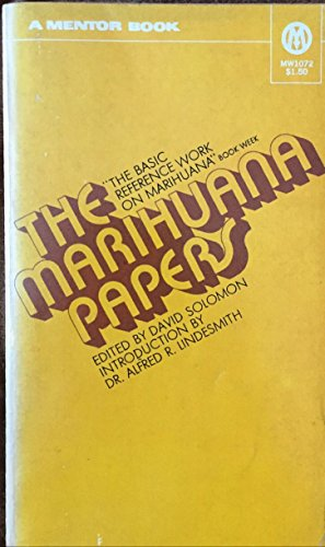 9780451034427: The Marihuana Papers